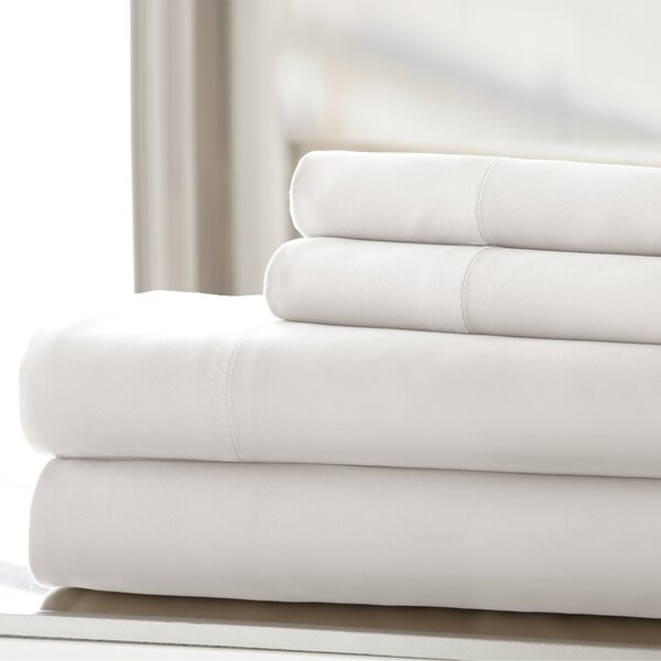 Germana 400 Thread Count 100% Cotton Sheet Set by The Twillery Co.